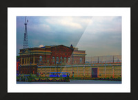 Port of Baltimore MD Picture Frame print