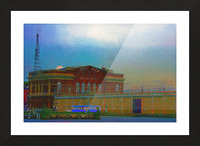 Baltimore Port Maryland  Picture Frame print
