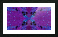 Butterfly in Crystal 29 Picture Frame print