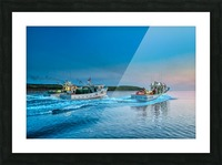 2019 Inshore crab opener - Cheticamp Picture Frame print