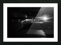 Dark alley Picture Frame print