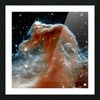 Horsehead Nebula In Space Picture Frame print
