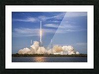 Falcon 9 Lifts Off from Space Launch Complex 40 Picture Frame print
