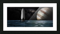 Interplanetary Transport with Jupiter 092716 Picture Frame print