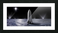Interplanetary Transport System SpaceX 092716 Picture Frame print