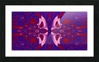 Strange Little Butterfly Picture Frame print