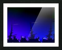 Noche_Azul Picture Frame print