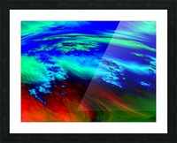 Weather_Report_27 Picture Frame print