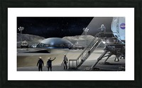 Moon Base 2 Picture Frame print