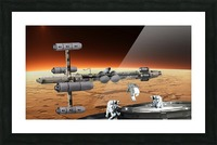 Copernicus at Mars Picture Frame print