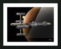 Copernicus in Mars Orbit Picture Frame print