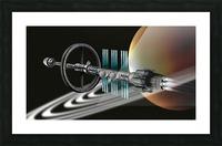 Starship Radial Alliance Picture Frame print