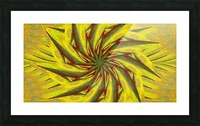 A Flower in the Wind 1 Picture Frame print
