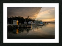Little Burnt Bay Picture Frame print