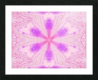 Flower in Pink Light Picture Frame print