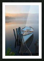 Morning Tranquility Picture Frame print