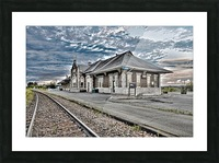 Gare Impression et Cadre photo