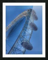 London Eye Picture Frame print