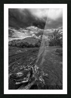 Cathedral Rock Picture Frame print