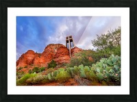 Chapel of the Holy Cross Picture Frame print