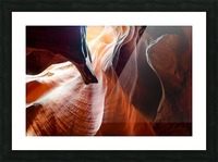 Upper Antelope Canyon 3 Picture Frame print