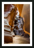 Upper Antelope Canyon 5 Picture Frame print