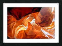Upper Antelope Canyon 8 Picture Frame print