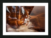 Upper Antelope Canyon 9 Picture Frame print