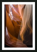 Upper Antelope Canyon 12 Picture Frame print