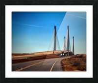 Indian River Bridge North Approach Picture Frame print