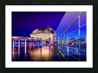 Montreal Casino At Night Picture Frame print