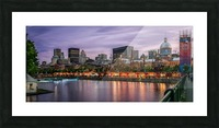 Old Port Of Montreal Picture Frame print