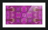 Stone Light Flower 5 Picture Frame print