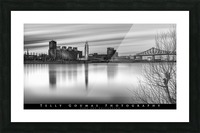 Long Exposure MTL Picture Frame print