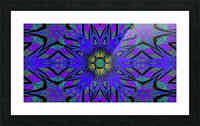 Totem Wildflower 7 Picture Frame print