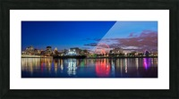 MTL Skyline_Panorama 2 Picture Frame print