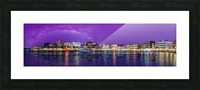 Chania Pano Picture Frame print