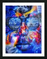 Graffiti Face - Toronto Picture Frame print