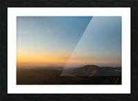 Calming Sunset Picture Frame print
