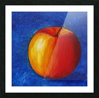 Red Apple - Still Life Painting Picture Frame print