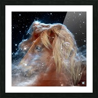 Horsehead Nebula with Horse Head in Space Picture Frame print