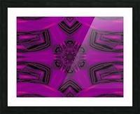 Purple Desert Song 37 Picture Frame print