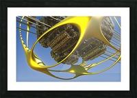 Vogazim by Jean-Francois Dupuis  Picture Frame print