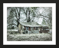 Abandoned Homestead Picture Frame print