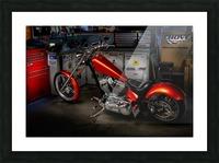 Bike Edit Picture Frame print