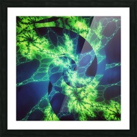 Neurospiral Picture Frame print