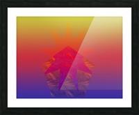 Polygon & Star V4 Picture Frame print