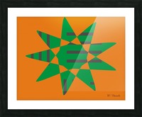 Star 1 Picture Frame print