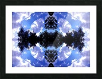Nube 8 Picture Frame print