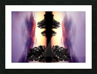 nube 47 Picture Frame print